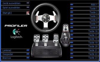 Logitech G27 Racing Wheel: Treiber